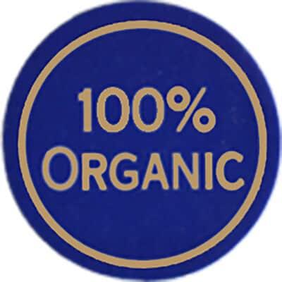 100% Certified Organic