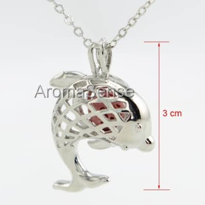 Dolphin necklace diffuser