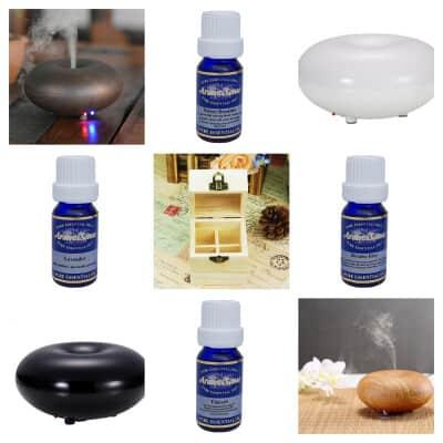 aromatherapy diffuser gift set