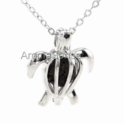 Aromatherapy necklace turtle
