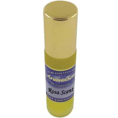 Rosa scent essential oil perfume