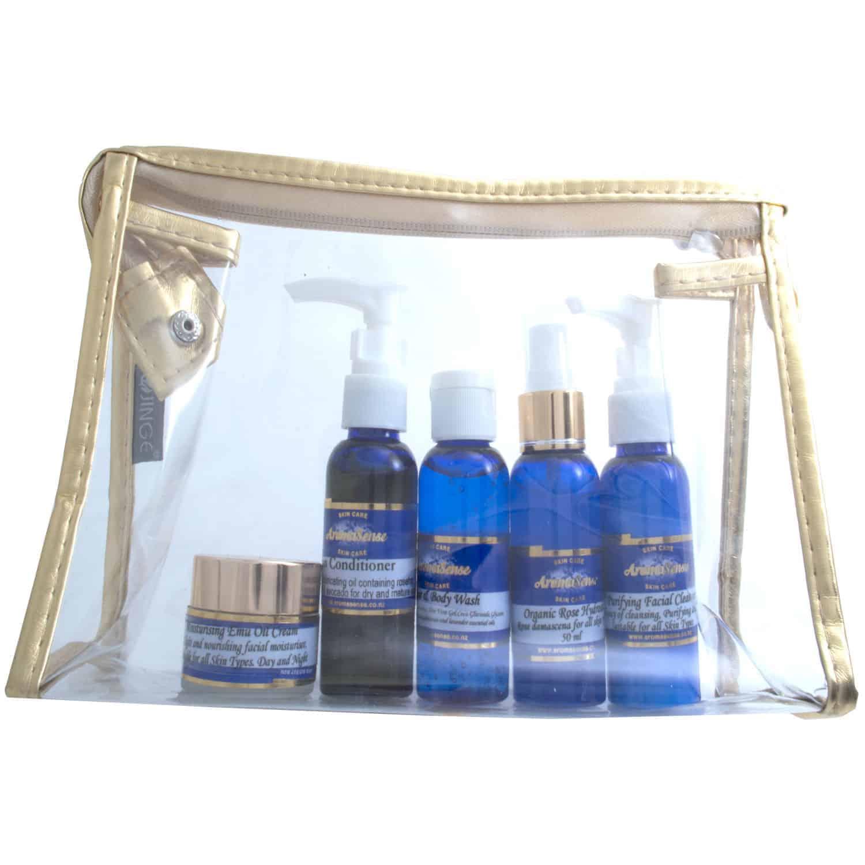 skin care travel set